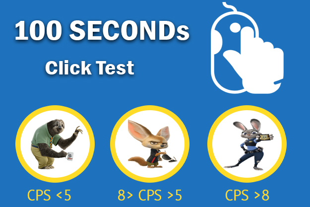 Click Test 100 Seconds
