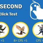 Clicks Per Second Test - 1 Second click test