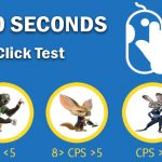 Clicks Per Minute - 60 Second Click Test