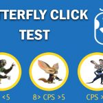 Butterfly Click Test - Clicking Speed Tester