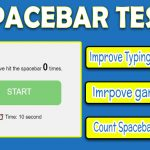 Spacebar Test / Counter - Check the Spacebar Speed Now [Updated]
