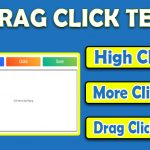 Drag Click Test - Drag Clicking Mouse [UPDATED]