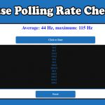 Mouse Rate Checker - Check Mouse Polling Rate Now!